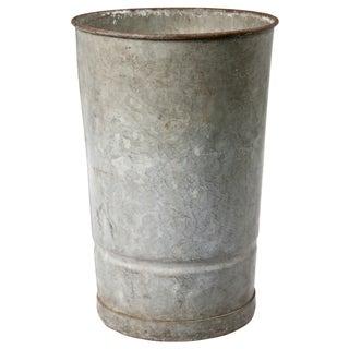 Galvanized Zinc Flower Bucket