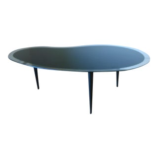 Unique Mid-Century Kidney Shaped Coffee Table