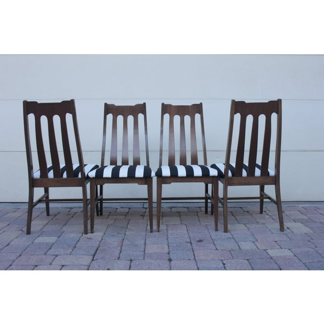 Mid Century Dining Chairs - Set of 4 - Image 6 of 8