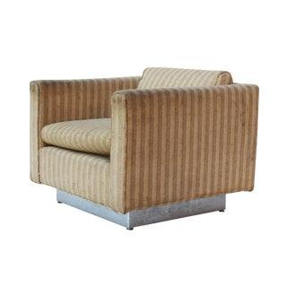 Stow & Davis Cube Club Chair