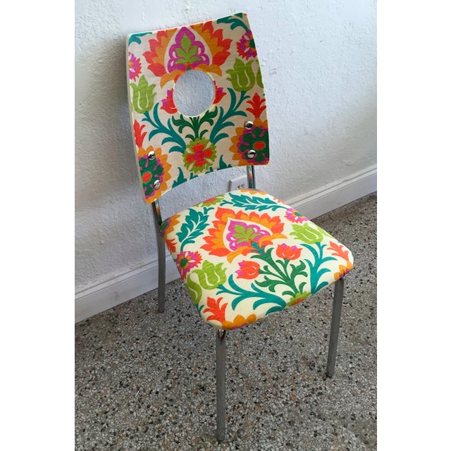 Floral Dining Chairs - Image 4 of 4