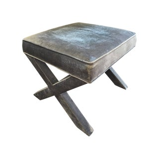 Jonathan Adler X-Bench in Brussels Charcoal