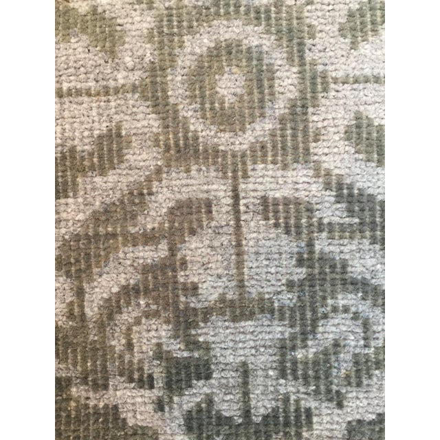 Hand Knotted Wool Rug - 2' x 3' - Image 3 of 4