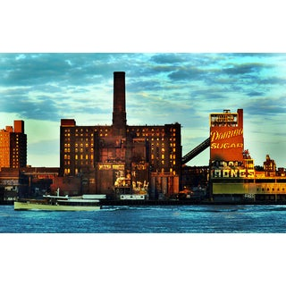 Original NY Domino Sugar Factory Photograph
