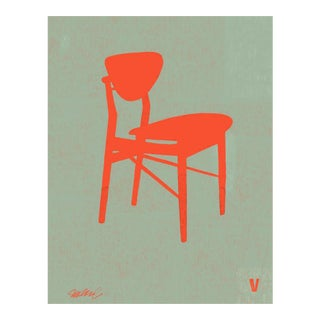 Premium Giclee Print of Finn Juhl Chair, Iconic Design Series