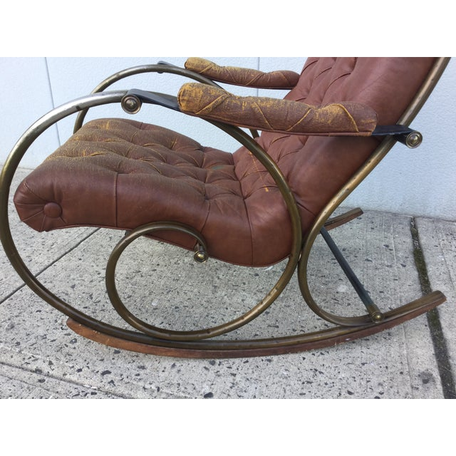 Image of 1960's Lee Woodard and Sons Rocking Chair