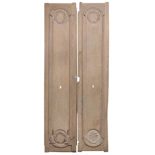 Pair of 18th Century Door Panels