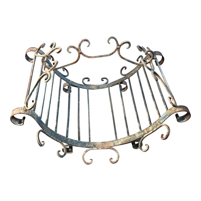 Wrought Iron Log Carrier - Image 1 of 6