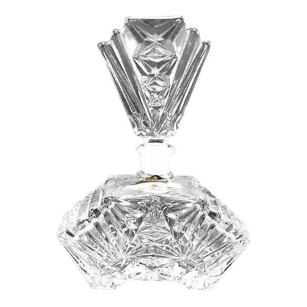 Art Deco Crystal Perfume Bottle Pompadour - Image 1 of 9