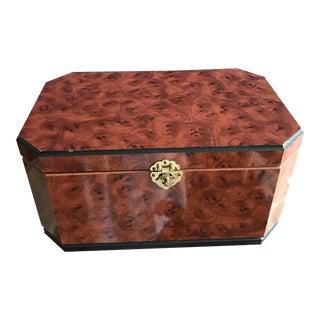 Vintage Burl Wood Box