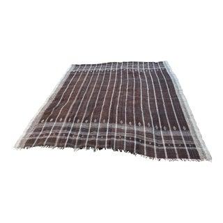 Hand Spun Bhujodi Wool Bed Cover