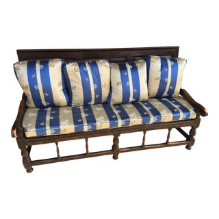 18th Century Welsh Hall Bench