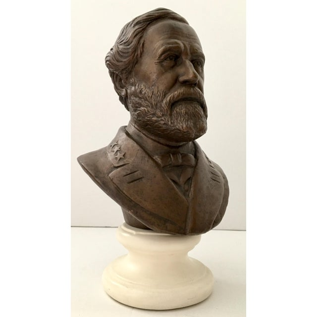 Vintage Ulysses S. Grant Bust Sculpture - Image 3 of 8
