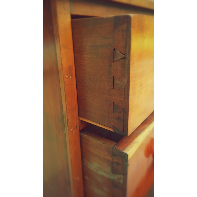 Antique American Craftsman Chest of Drawers - Image 5 of 8