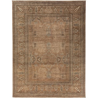 """Ziegler Hand Knotted Area Rug - 9'0"""" X 12'0"""""""
