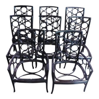McGuire Laura Kirar Ringback Chairs - S/8