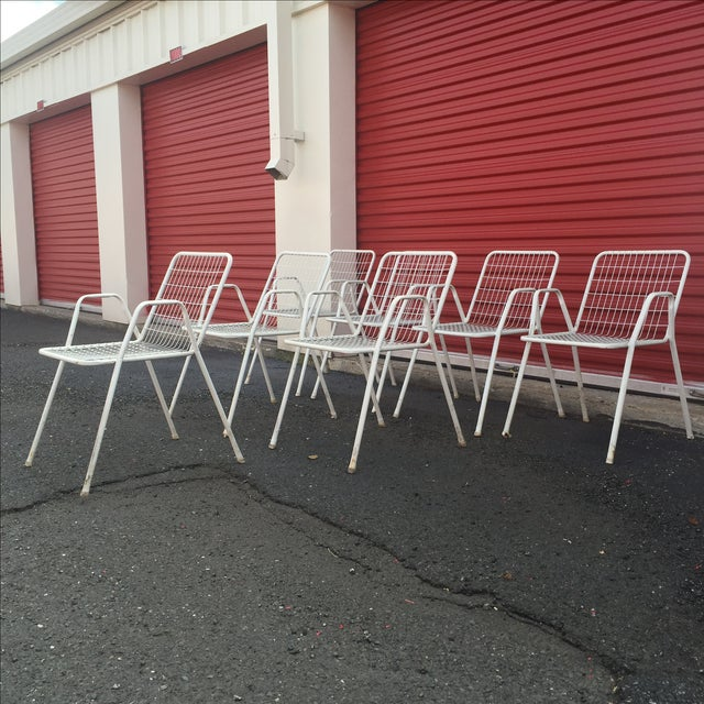 Image of Vintage Outdoor Chairs - Set of 7