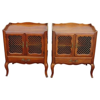 French-Style Nightstands - Pair