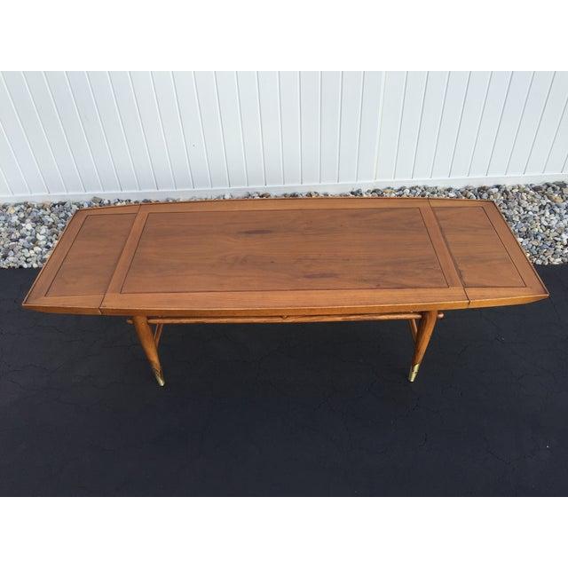 Lane Blonde Coffee Table: Mid-Century Lane Copenhagen Drop Leaf Coffee Table