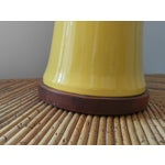 Image of Yellow Bamboo Form Lamp