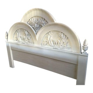 French Style King Size Headboard. Vintage   Used French Country Headboards   Chairish