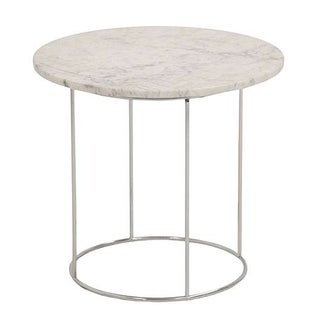 Hugh Acton Mid-Century Marble Top Side Table