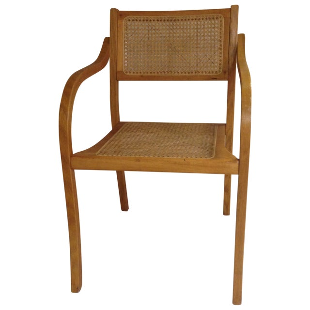 Thonet Style Bentwood & Cane Arm Chair - Image 1 of 5