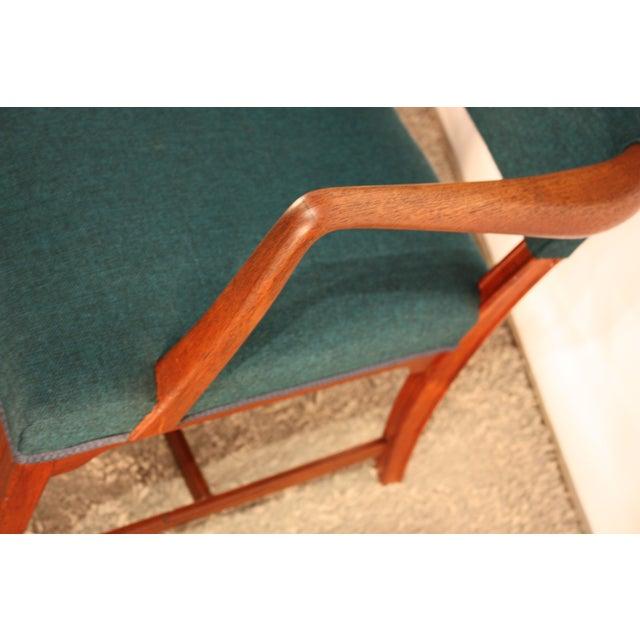Kaare Klint Style Teak Armchairs - A Pair - Image 3 of 5