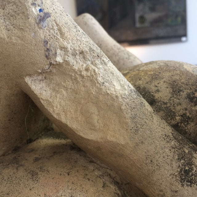 Puryear Mims Limestone Sculpture - Image 7 of 7