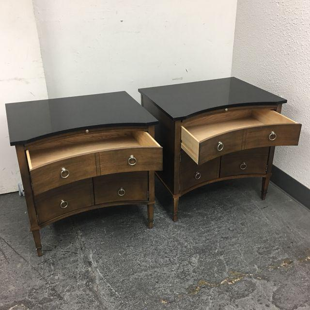 Hickory Chair Lancaster Side Tables - A Pair - Image 6 of 10