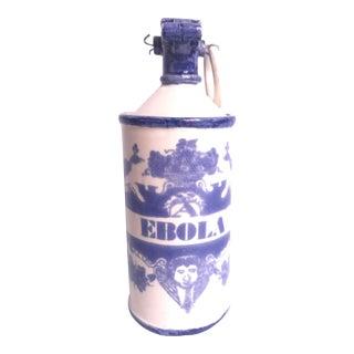"Porcelain ""Ebola"" Gas Canister"