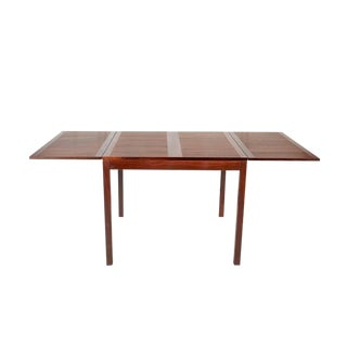 Rosewood Drop Leaf Dining Table by Kai Winding