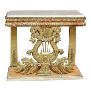 Late Gustavian Console Table (#01-15)