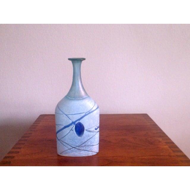 Image of Bertil Vallien Galaxy Kosta Boda Bottle Vase