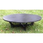 Image of Vintage Mid-Century Slate Coffee Table