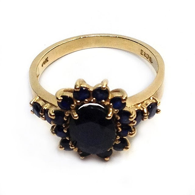 Image of Gold & Sapphire Ring