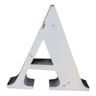 Large Metal A