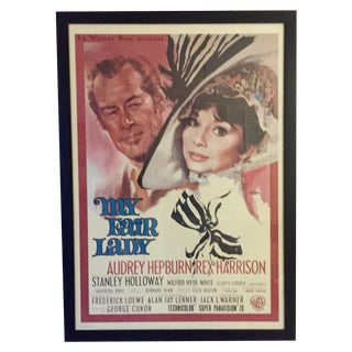 My Fair Lady Italian Movie Poster