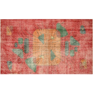 "Turkish Art Deco Rug - 4'7"" x 8'"