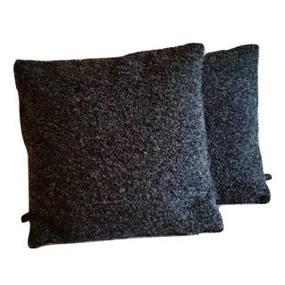 Designtex Biba Black Magic Boucle Pillow Covers - A Pair
