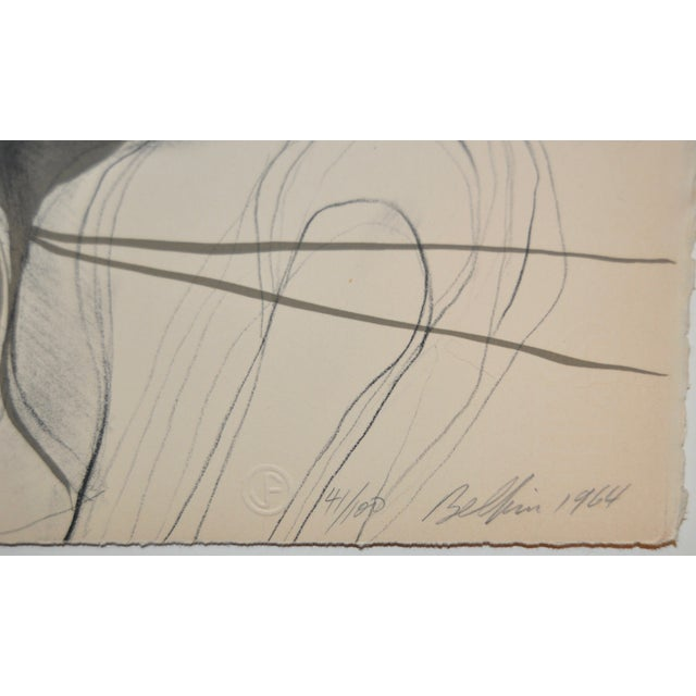 Arnold Belkin Mid Century Modern Lithograph 1964 - Image 4 of 5