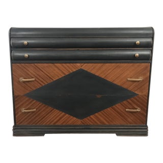 Distressed Art Deco Dresser