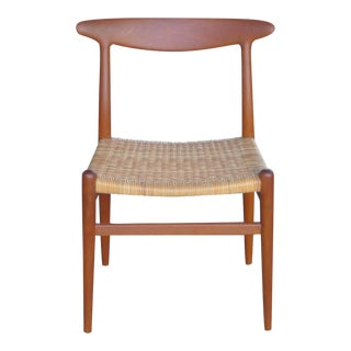 "Hans Wegner, Vintage Danish Modern ""Heart Chair,""for CM Madsens"