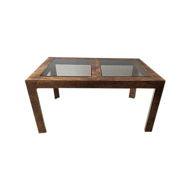 Image of Thomasville Burlwood Dining Table