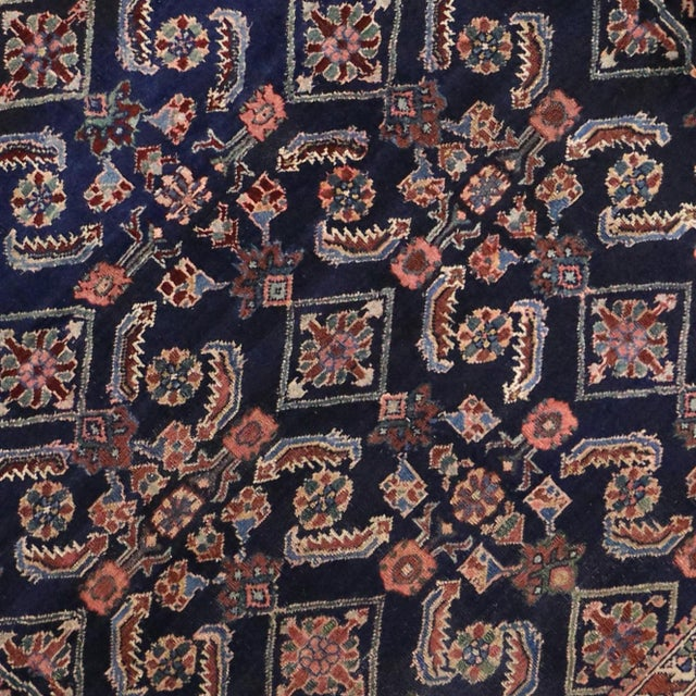 Antique Persian Traditional Modern Style Lilihan Rug - 3′10″ × 5′6″ - Image 5 of 6