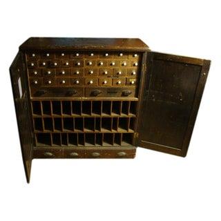 19th Century Hardware Cabinet