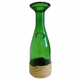 Italian Emerald Glass Wine Carafe