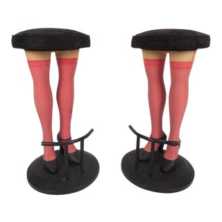 Unique Contemporary Modern Legs Bar Stools