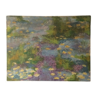 Impressionist Lily Pad Painting