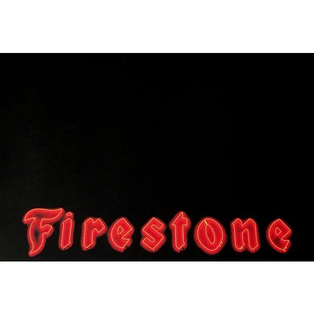 Image of Charlie Bidwell Firestone Print